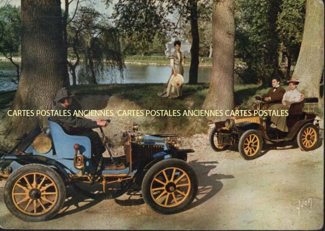Collection de cartes postales anciennes, Automobiles, Motos - carte-postale-ancienne.net/fr/