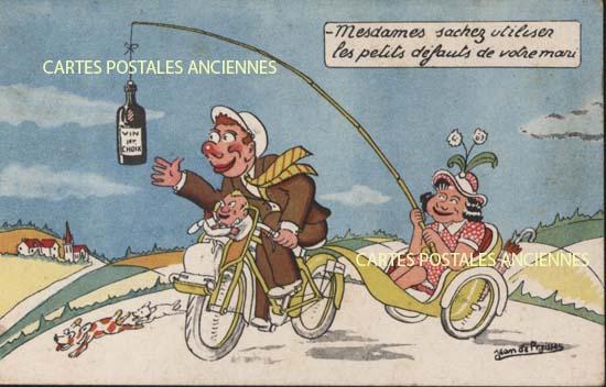 Cartes Postales Anciennes Humour Fantaisie - carte-postale-ancienne.net/fr/